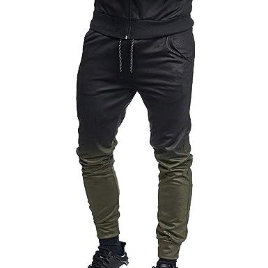 Anaisy Pantalones Largos para Hombres Pantalones De Chándal ...