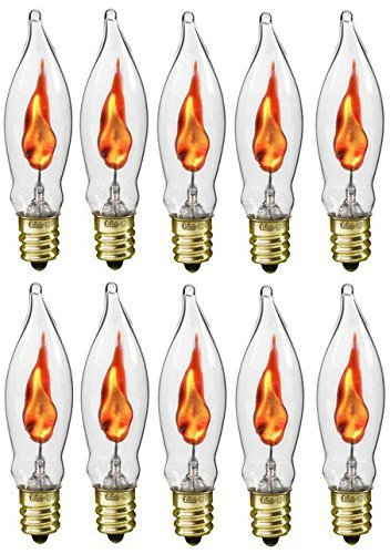 Replacement Percussion (Flickering Flame Shaped Bulbs Menorah Replacement Bulbs (10-Pack))