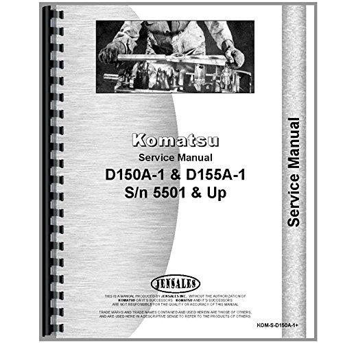 Komatsu D155a 1 Crawler Diesel  Sn 5501   Up  Service Manual