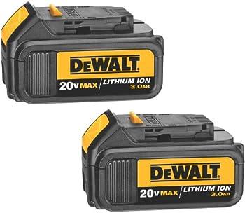 2-Pack DeWalt 20 V Lithium Ion Battery + $53.99 Sears Credit