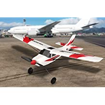 FUNTECH 3 Channel Remote Control Airplane, RTF RC Plane Drone with 2.4GHz Control Flying Aircraft for Indoors/Outdoors Flight Toys,Built in 6 Axis Gyro System Super Easy to Fly