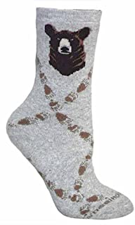 product image for Wheel House Designs Women's Grizzly Bear Socks