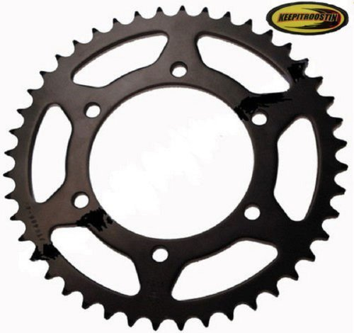(Jt 53 Tooth Rear Sprocket with Keepitroostin Sticker Fits Honda Cr125 Cr250 Cr500 1984-2007)