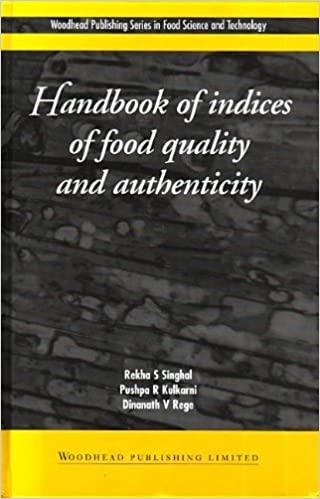 Ebooks meilleures ventes Handbook of Indices of Food Quality and Authenticity (Woodhead Publishing Series in Food Science, Technology and Nutrition) by Rekha Singhal (1997-07-01) B01K90QW48 in French PDF FB2