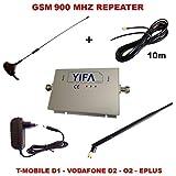 Répéteur amplificateur de signal gSM pour téléphone portable pour tous les fournisseurs sT900A 960MHz-gain 4,5 dB-accessoires