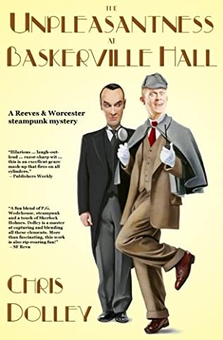 book cover of The Unpleasantness at Baskerville Hall