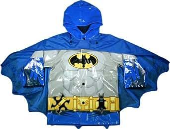 Western Chief Boys' Batman Raincoat,Black,US 2T