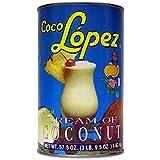 Coco Lopez Cream of Coconut Bulk Size (57.5 oz Can)