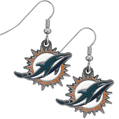 - NFL Miami Dolphins Dangle Earrings