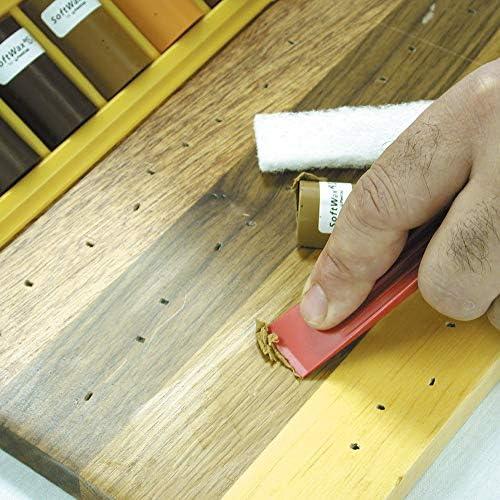 Softwax Suave Cera Palo de reparación de relleno de madera