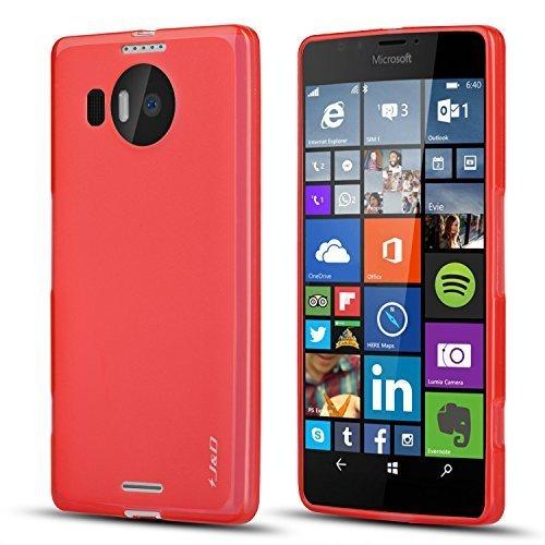 9 opinioni per Custodia Lumia 950 XL, J&D [Goccia Protezione] [Cuscino Sottile] [Paraurti