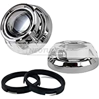 Chrome Apollo HID Projector Retrofit Shrouds Bezels Universal 2.5 3 Inch Universal