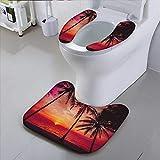 HuaWu-home The Toilet Condomsun Tropical beachBathroom Accessories