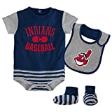 MLB  Cleveland Indians Infant Boys Bib & Booty-18 Months