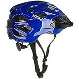 Kali Protectives Chakra Logo Bike Helmet (Blue, Medium/Large)
