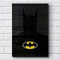 Placa Decorativa em MDF com 20x30cm - Modelo P35 - Batman