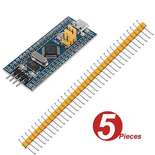 WINGONEER 5Pcs Smart 40Pin STM32 ARM Development Board Minimum System Board/STM32F103C8T6 Core Learning Board For Arduino TE435