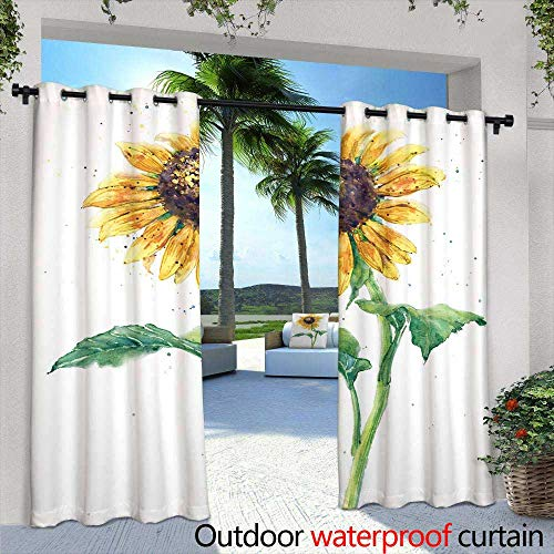 berrly Outdoor Privacy Curtain for Pergola,Success Money Freedom Motivational Quotes Colored Emblems Set Isolated Vector Illustration,W72 x L84 for Front Porch Covered Patio Gazebo Dock Beach Home
