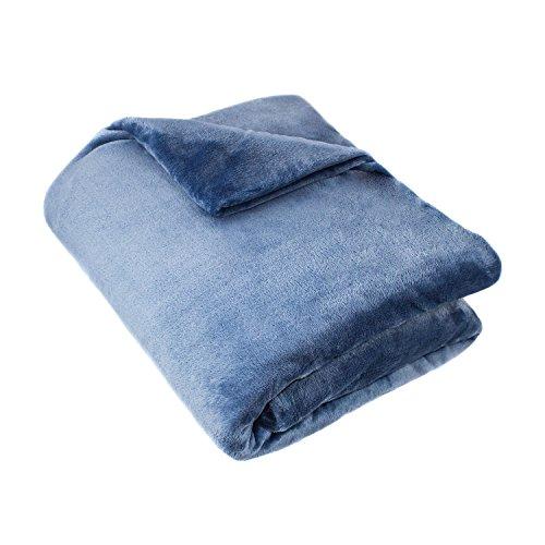 Cozy Fleece Super Blanket Wedgewood