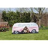 Spencer and Fleetwood Ltd VW Bulli Spiele-Wurfzelt Pink für Kinder
