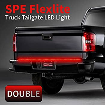 Amazon bully led tailgate fire strip brake light automotive 49 2 row truck tailgate light bar strip brake turn signal mozeypictures Choice Image