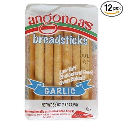 Angonoas Breadsticks, Garlic, Bolsas de 3,25 onzas (Pack de ...