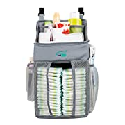 DaliWay Baby Diaper Organizer for Nursery (Grey)