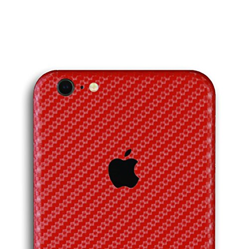 AppSkins Rückseite iPhone 6 PLUS Full Cover - Carbon red