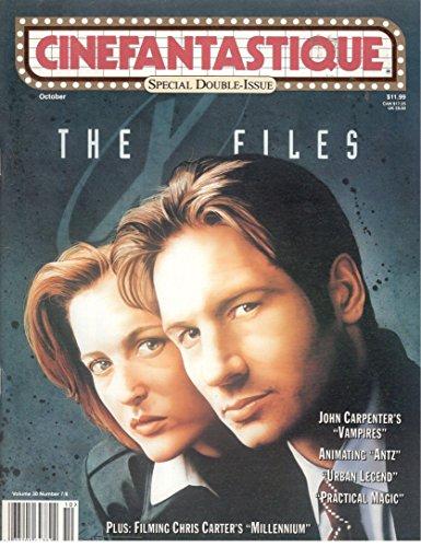 Cinefantastique Magazine (October 1998,X-Files,Urban for sale  Delivered anywhere in USA