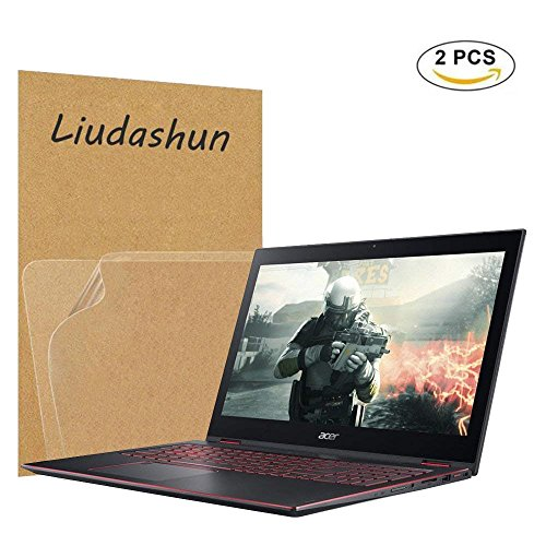 Acer Nitro 5 Spin Screen Protector,HD Clear LCD Anti-Scratch Anti-Fingerprints Guard Film For 15.6'' Acer Nitro 5 Spin NP515-51 2-in-1 Laptop(2-pack) by Liudashun