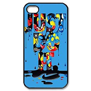 Custom Your Own Nike Just Do It iPhone 4/4S Case , personalised Nike Just Do It Iphone 4 Cover
