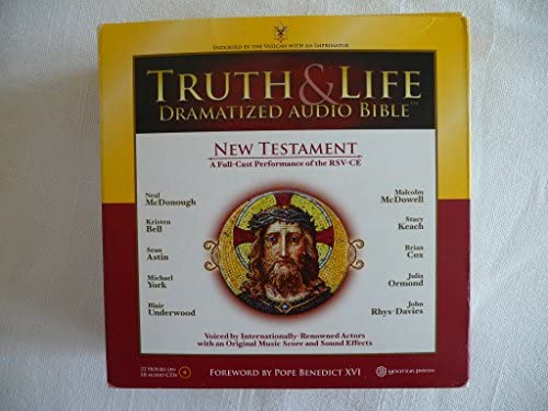 Truth & Life Dramatized Audio Bible (New Testament RSV-CE) - 18 CDs