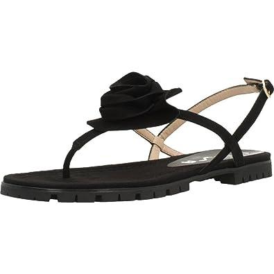 Unisa CHESTER KS Noir - Chaussures Sandale Femme