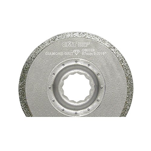 CMT OMS23-X1 Diamond Coated Radial Saw Blade Fit Fein Supercut Festool Vecturo Quick Release Oscillating Multicutter Radial Tile
