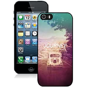 NEW Unique Custom Designed iPhone 5S Phone Case With The Journey Not The Destination_Black Phone Case