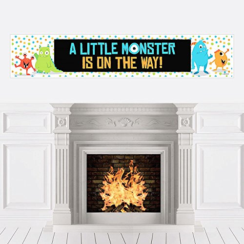 Big Dot of Happiness Monster Bash - Little Monster Baby Shower Decorations Party -