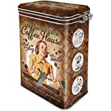 Nostalgic-Art 31103Coffee y Chocolate Coffee House, aroma lata