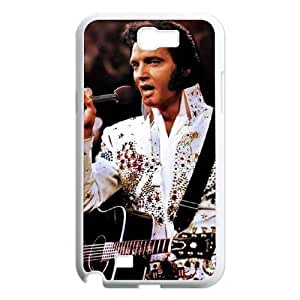 YUAHS(TM) Personalized Hard Back Cover Case for Samsung Galaxy Note 2 N7100 with Elvis Presley YAS909192