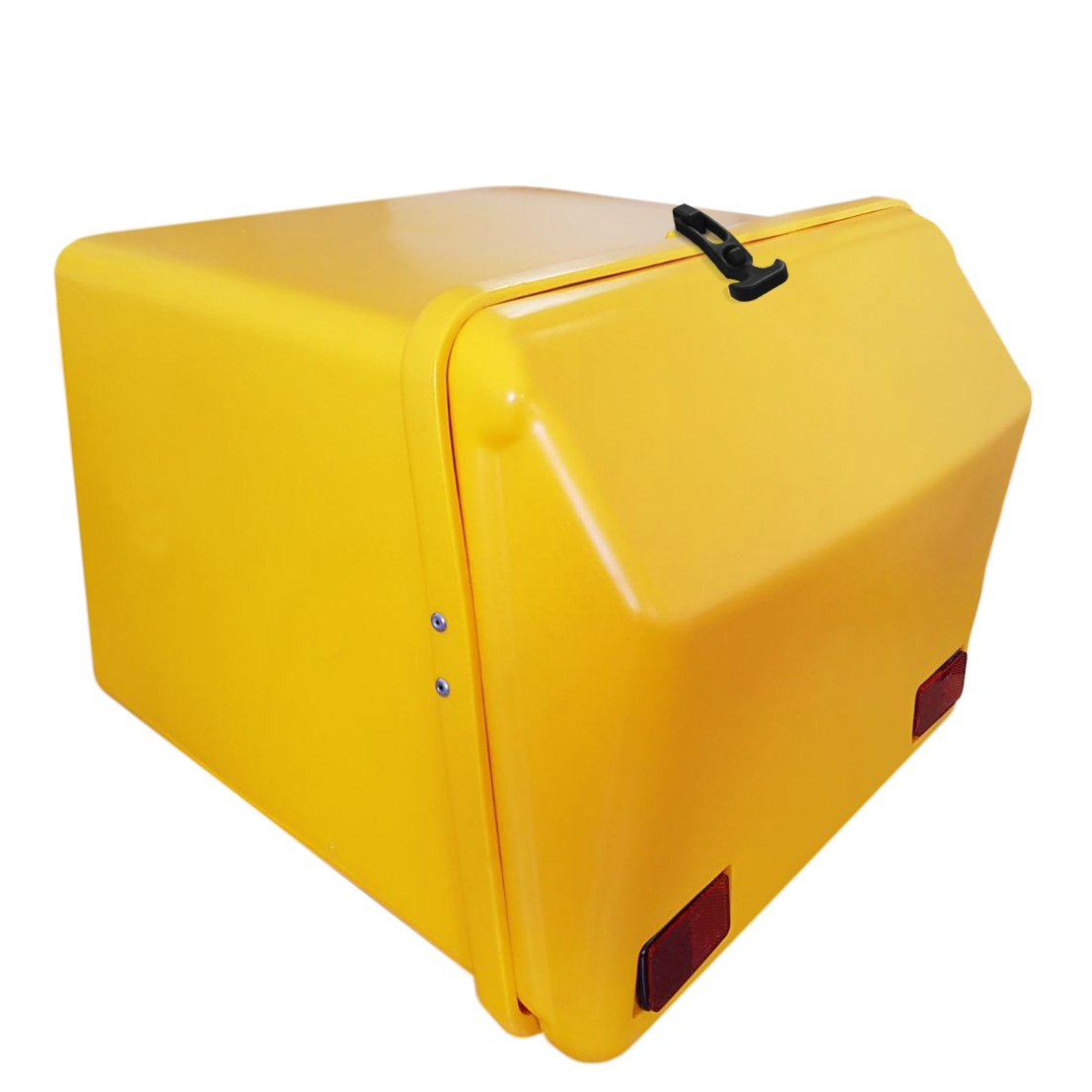 Portaequipajes Moto Ba/úl Reparto Amarillo//Amarillo con Reflectantes homologados