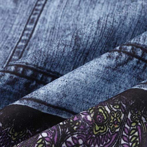 Sueltos Tendencia Blau La Trousers Betrothales Pantalones Atractivos Agujero Superiores Monocromáticos Pants Salvajes Moda Mujer Vaqueros Vaquerospantalones Medias PwaIw