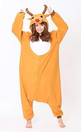 Kigurumi 2758 pijama, diseño de reno de Navidad