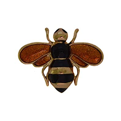 ca3021d95 Brooches Store Small Black Enamel   Gold Insect Bee Brooch - Gift ...