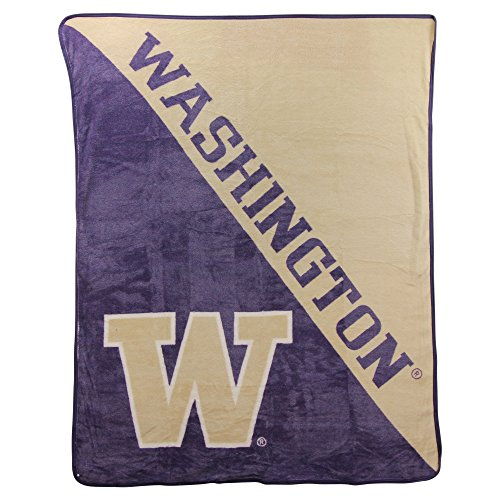 (The Northwest Company NCAA Halftone Micro Raschel Throw, 46
