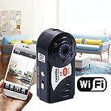 RETECK Q7 WiFi Wireless Recorder 720P Mini DV DVR Camera Smallest Night Vision Video Camcorder with Built-in Microphone