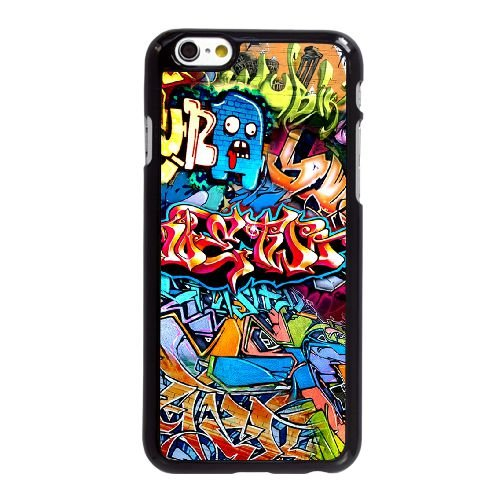 Graffiti Sfondo KM62UF5 coque iPhone 6 6S plus de 5,5 pouces de mobile cas coque P6CY2B5YV