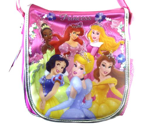 Disney Classic Pink Princess Lunch Tote - Disney Princess Lunch Bag - Disney Princess Satchel