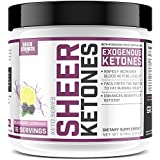 Hoch Potency BHB Salts ~ Exogenous Ketones Formulated to Burn Fat, Boost Energy & Jumpstart Ketosis Fast | BlackBerry Lemonade Beta-Hydroxybutyrates | Sheer Strength Labs, 232g