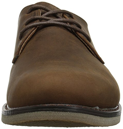 Nunn Bush Mens Linwood Classico In Pelle Scamosciata Marrone Oxford Scarpa Stringata