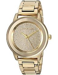 Michael Kors Womens Kinley Gold-Tone Watch MK6209