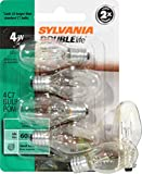 Sylvania Home Lighting 13523 C7-4W Incandescent Light Bulb, Candelabra Base, 4 Piece